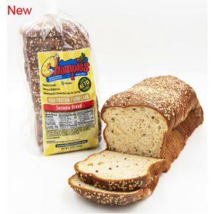 Chompie's Low Carb Sesame Bread 453g