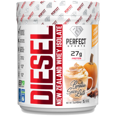 Diesel Protein Shake ( 1lb ) - Pumpkin Spice Latte (Limited Edition)