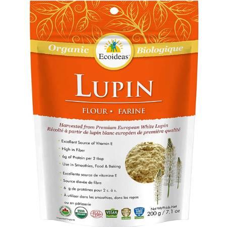 Ecoideas Organic Lupin Flour 200g