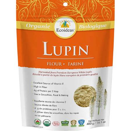 Ecoideas Organic Lupin Flour 400g