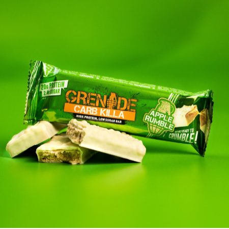 Grenade Carb Killa Protein Bar - Apple Rumble Box of 12