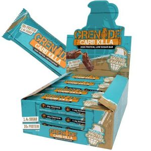 Grenade Carb Killa Protein Bar - Salted Caramel Box of 12