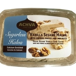 Achva Halva - Dietary Fibers and walnuts