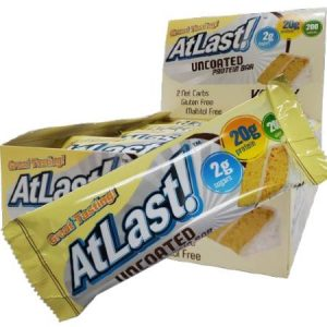 HealthSmart Atlast Uncoated Protein Bar Yellow Cake 64g