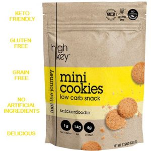 High Key Low Carb Mini Cookies Snickerdoodle 56.6g, is suitable for phase 1 and 2