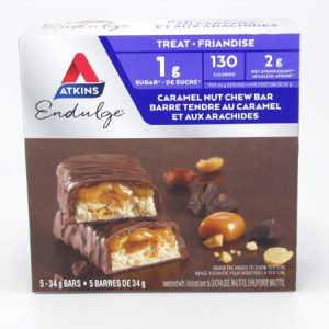 Atkins Endulge - Caramel Nut Chew Bar front of box image