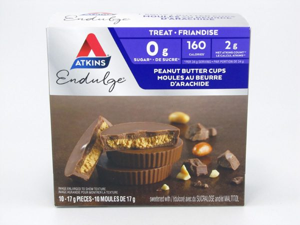 Atkins Endulge - Peanut Butter Cups front of box image