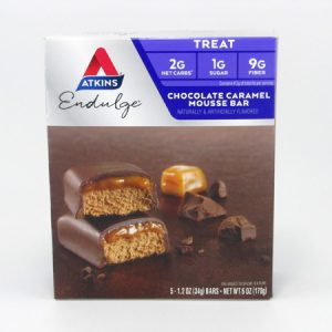 Endulge Chocolate Caramel Mousse Bar front of box image