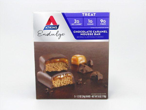 Endulge Chocolate Caramel Mousse Bar front of box image