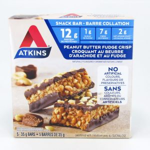 Atkins Peanut Butter Fudge Crisp Bar front of box image