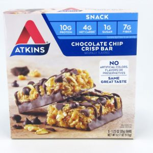Chocolate Chip Crisp Bar front of box image