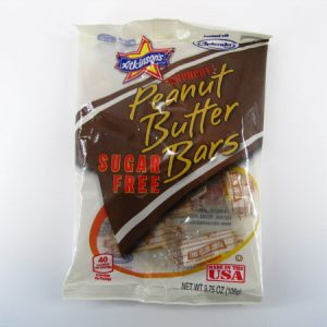 Atkinson's - Peanut butter bars front of bag image