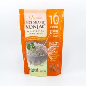 Organic Konjac Rice front of bag