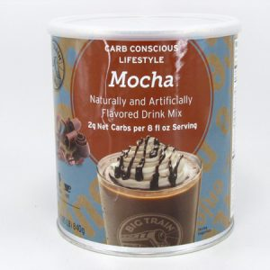 Big Train Mocha Drink Mix front view
