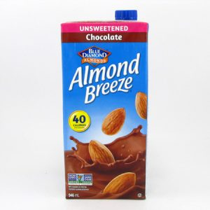 Almond Breeze - Chocolate front view