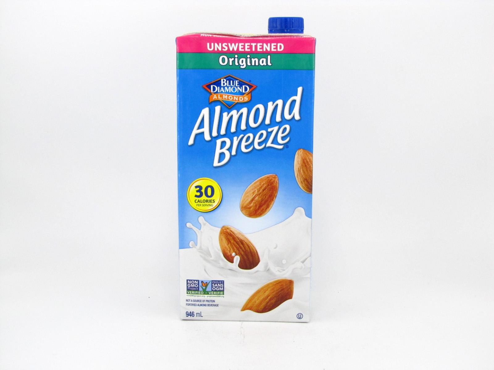 Almond Breeze Original - front view