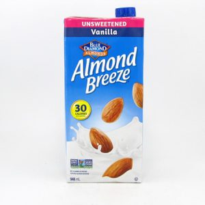 Almond Breeze - Vanilla - front view