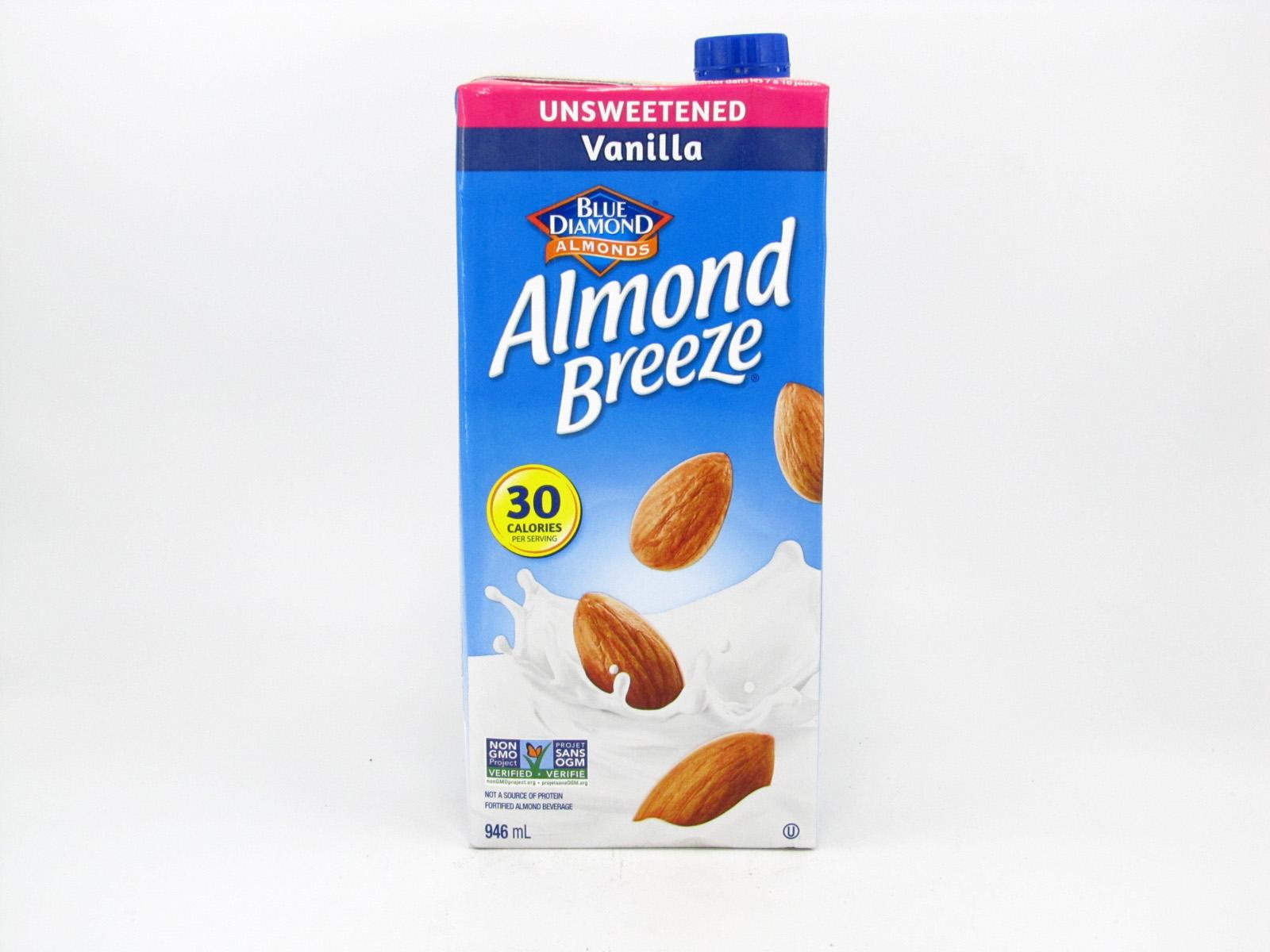 Almond Breeze - Vanilla - front view
