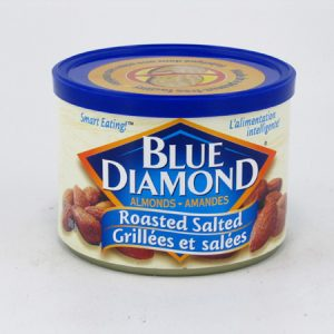 Blue Diamond Almonds - Roasted salted - front view