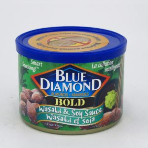 Blue Diamond Almonds - Wasabi & Soy Sauce - front view