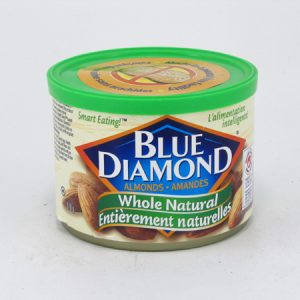 Blue Diamond Almonds - Whole Natural - front view
