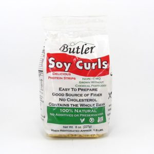 Butler Soy Curls - Package Front