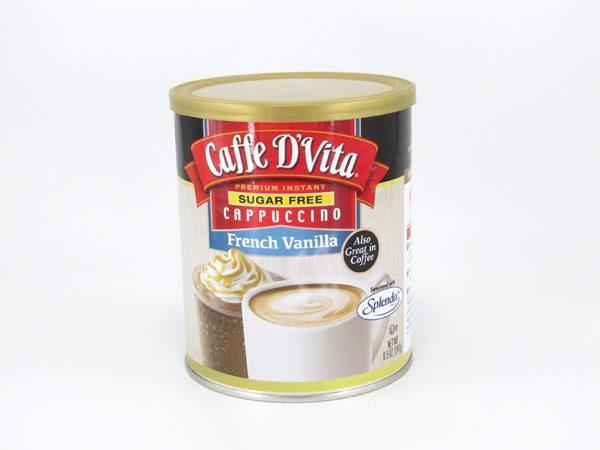 Caffe D'Vita - French vanilla - front view