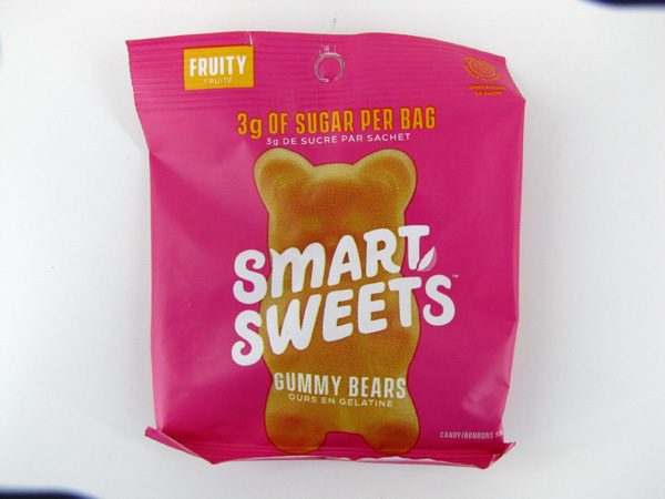 Smart Sweets - Gummy Bears - Fruity - front view