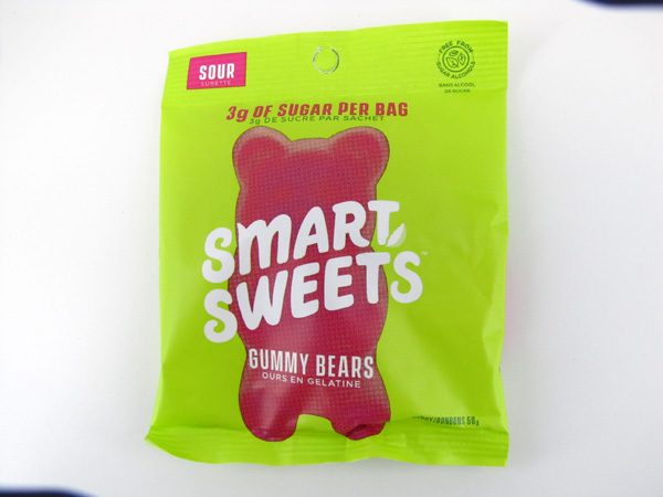 Smart Sweets Gummy Bears - Sour - front view