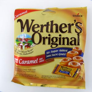 Werther's Caramel - front view