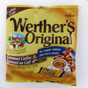 Werther's Caramel Coffee - front view