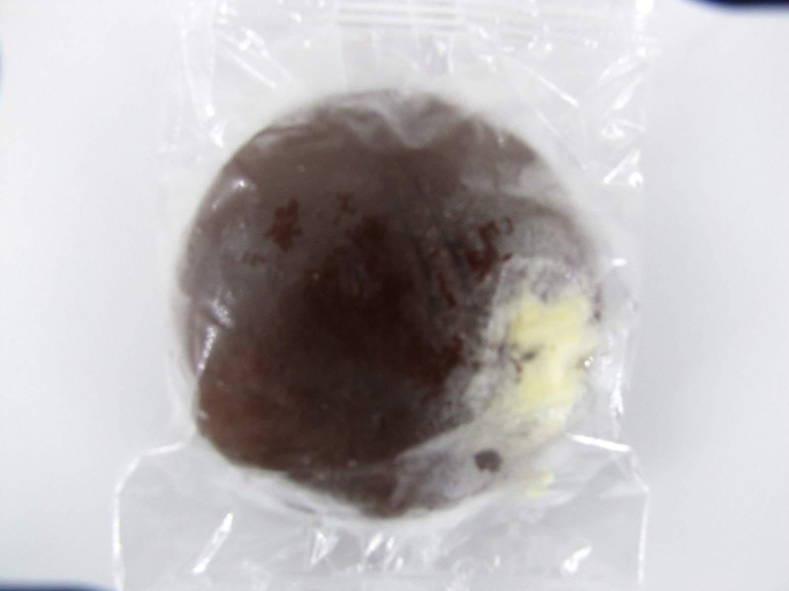 Chatilas Chocolate Donut Vanilla Cream - front view