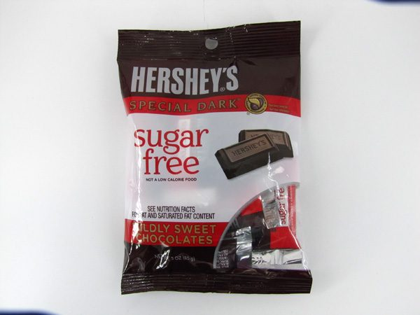 Hersheys Special Dark Chocolate - front view