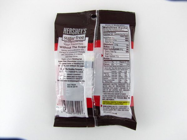 Hersheys Special Dark Chocolate - back view