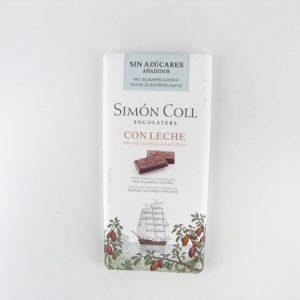 Simon Coll Milk Chocolate - front view