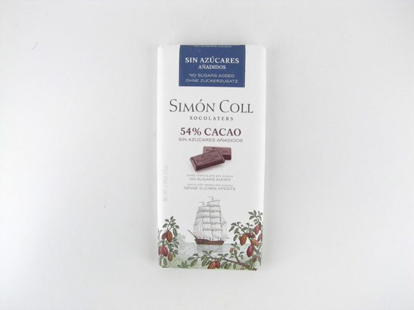 Simon Coll Dark Chocolate - front view