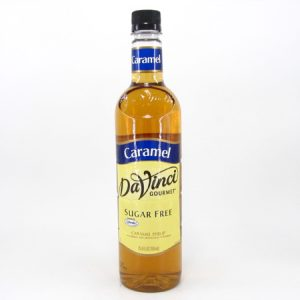 DaVinci syrup - Caramel - front view