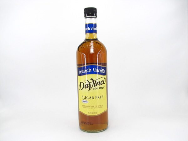 DaVinci Syrup - French Vanilla - front view