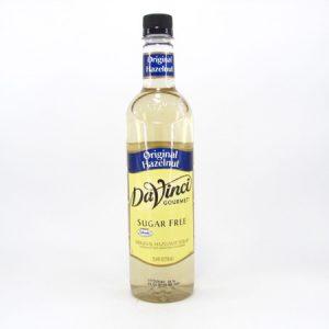 DaVinci Syrup - Original Hazelnut - front view