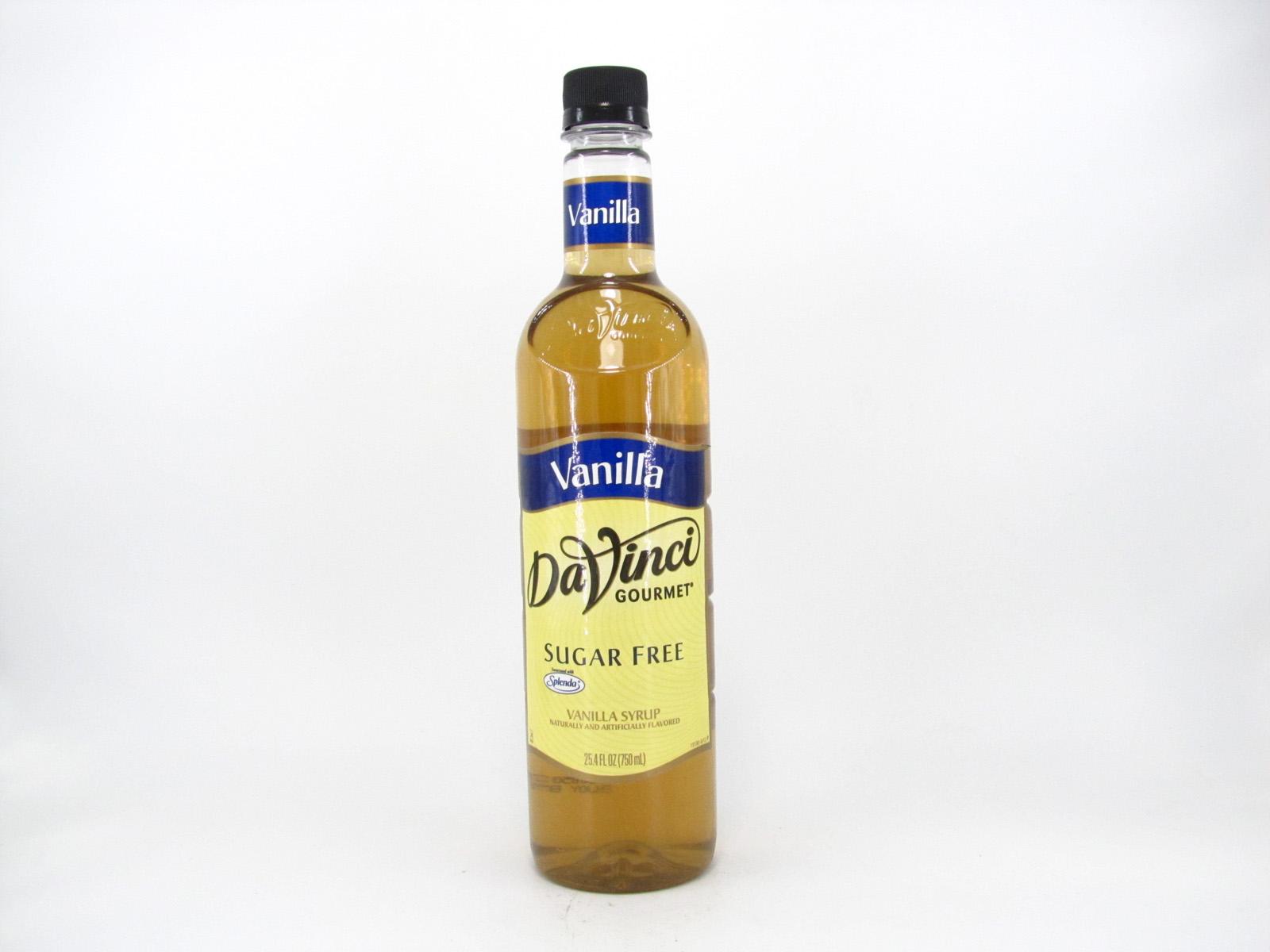 DaVinci Syrup - Vanilla - front view