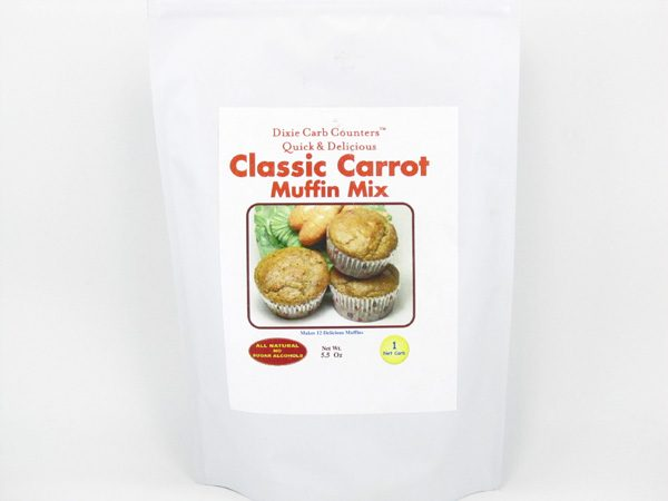 Muffin Mix - Classic Carrot - front view