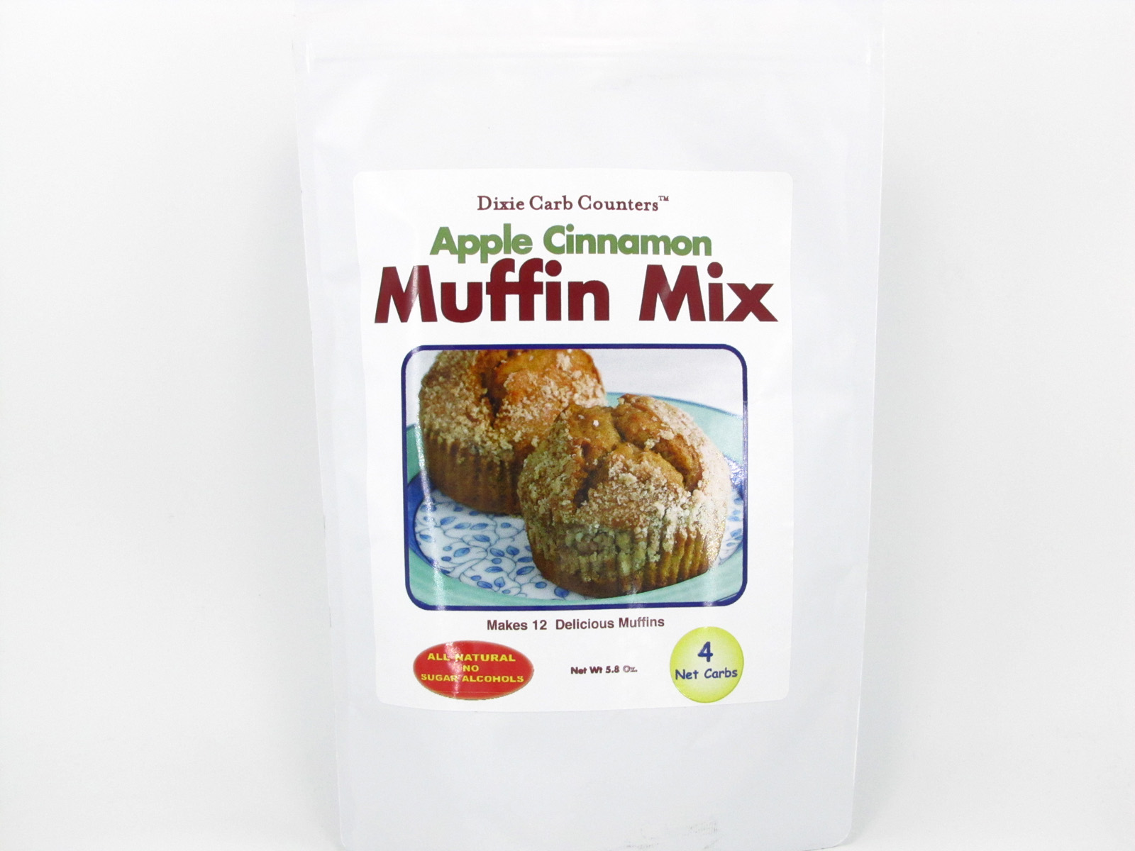 Muffin Mix - Apple Cinnamon - front view