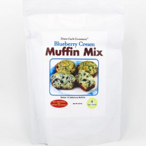 Muffin Mix - Blueberry Cream - front view