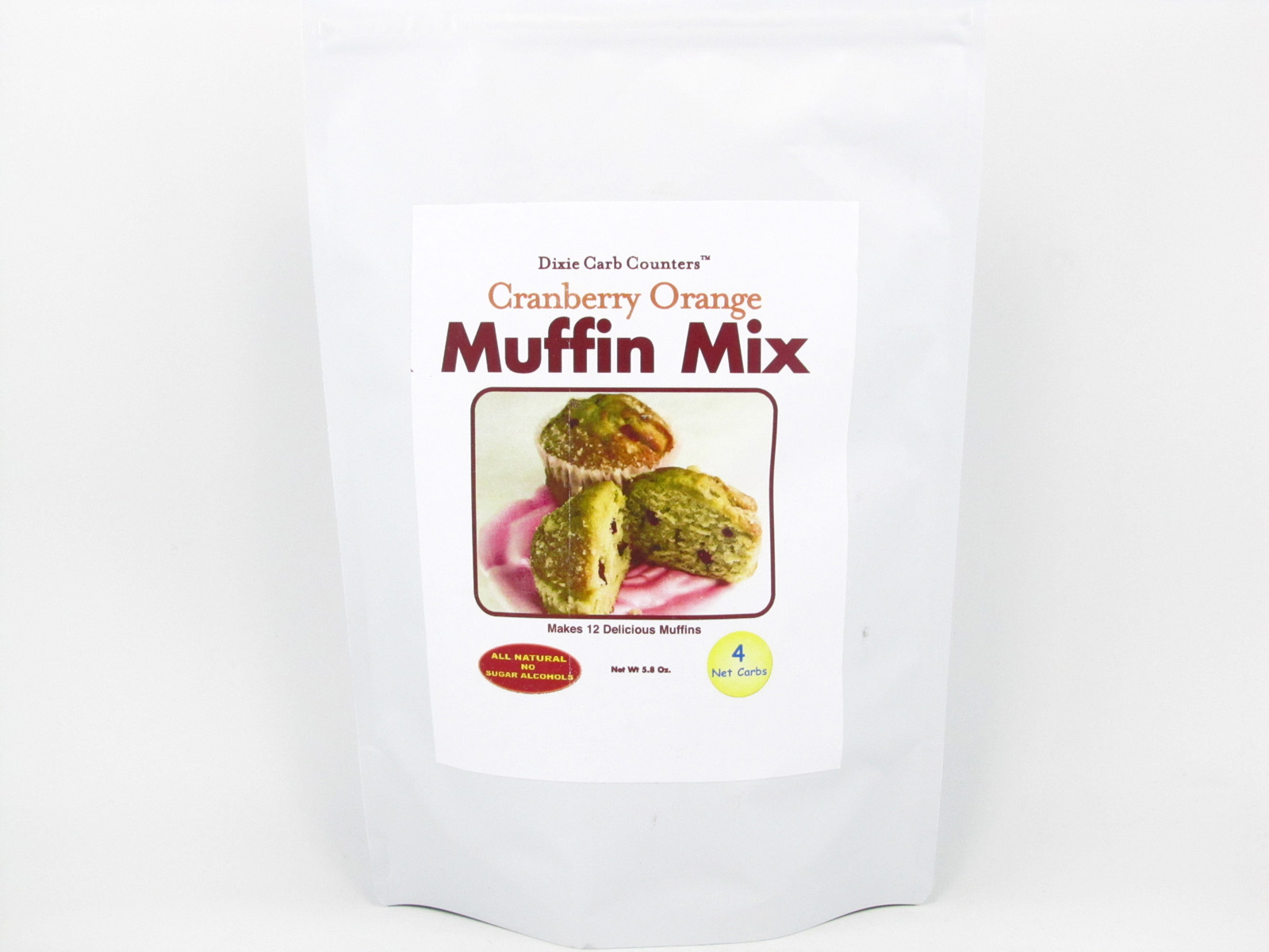 Muffin Mix - Cranberry Orange - front view