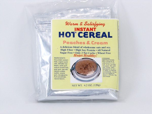 Hot Cereal - Peaches & Cream - front view