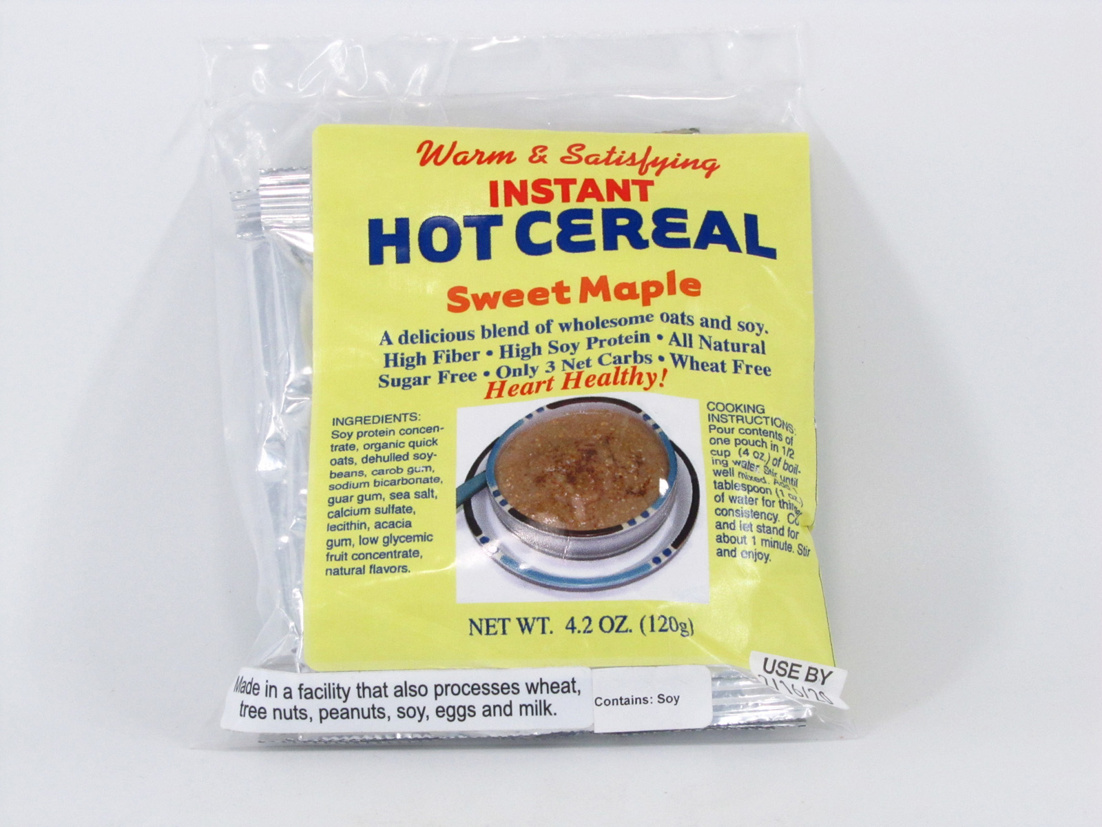 Hot Cereal - Sweet Maple - front view