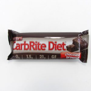 Doctor's CarbRite Diet - Chocolate Brownie - front view