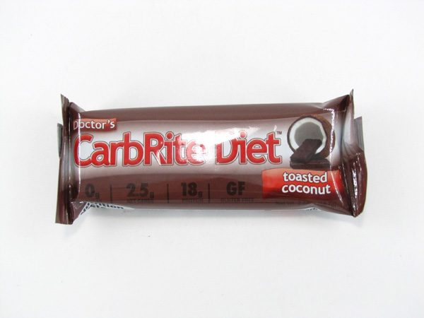 Doctor's CarbRite Diet - Toasted Coconut - front view