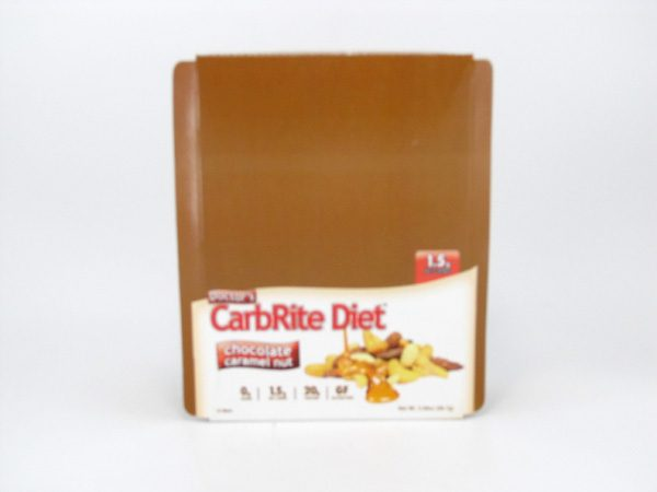 Doctor's CarbRite Diet - Chocolate Caramel Nut - Box view