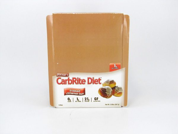 Doctor's CarbRite Diet - Frosted Cinnamon Bun - Box view